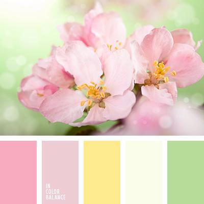 Розово-желтая весна